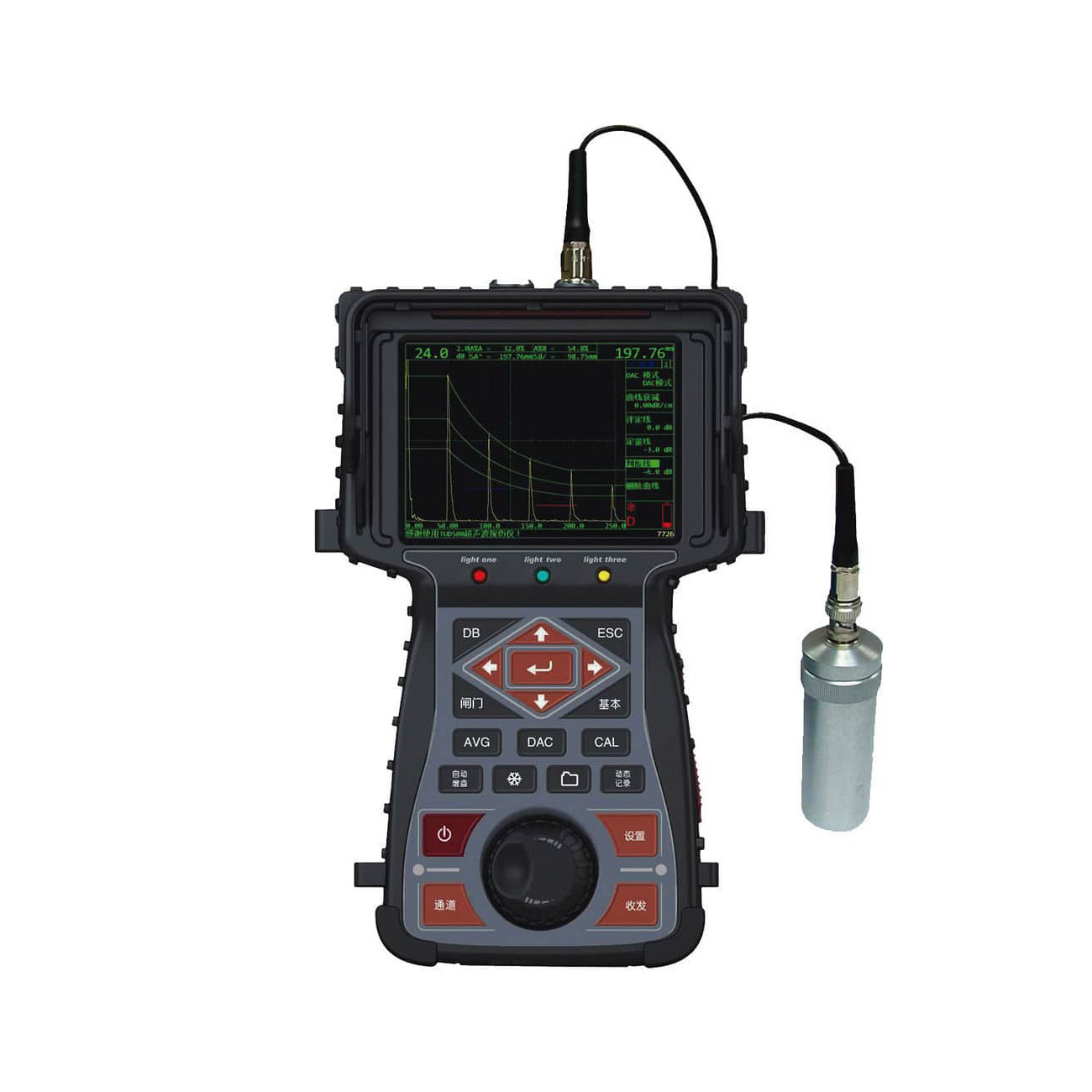 TIME®TUD500 - Ultrasonic Flaw Detector
